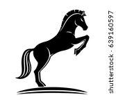 sign of horse. | Shutterstock .eps vector #639160597