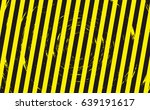 line yellow and black color... | Shutterstock .eps vector #639191617