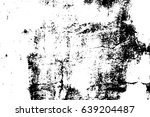 old worn vector texture. black... | Shutterstock .eps vector #639204487
