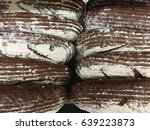 Small photo of Rye bread. Black bread. Dark bread.