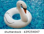 Inflatable White Swan Float In...