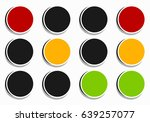 traffic light  traffic lamp... | Shutterstock .eps vector #639257077