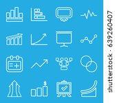 chart icons set. set of 16...   Shutterstock .eps vector #639260407