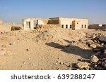 ruins of abandoned village al... | Shutterstock . vector #639288247