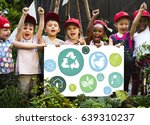 kid and environment education...   Shutterstock . vector #639310237