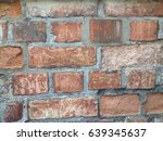 brown brick | Shutterstock . vector #639345637