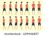 walking man for animation 14...