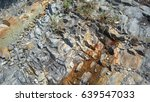 Small photo of Rocky texture