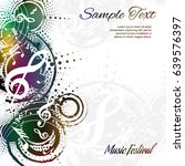 music background abstract... | Shutterstock .eps vector #639576397