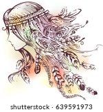 illustration of a native...   Shutterstock .eps vector #639591973