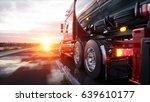 gasoline tanker  oil trailer ... | Shutterstock . vector #639610177