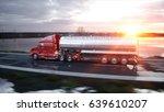 gasoline tanker  oil trailer ...   Shutterstock . vector #639610207