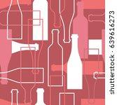 seamless pattern  pack paper... | Shutterstock .eps vector #639616273