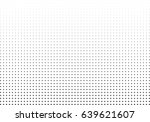 abstract halftone dotted... | Shutterstock .eps vector #639621607