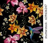 Humming Bird  Orchid Exotic...
