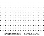 abstract halftone dotted... | Shutterstock .eps vector #639666643