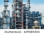 oil and gas industry refinery... | Shutterstock . vector #639684343