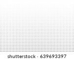 abstract halftone dotted... | Shutterstock .eps vector #639693397