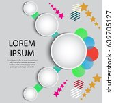 vector illustration of modern... | Shutterstock .eps vector #639705127