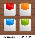 banner presentation  vector... | Shutterstock .eps vector #639718327