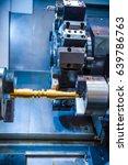 metalworking cnc milling... | Shutterstock . vector #639786763