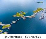 atlantic ocean road or the... | Shutterstock . vector #639787693