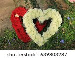 Heart Shaped Sympathy Flowers ...