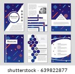 abstract vector layout... | Shutterstock .eps vector #639822877