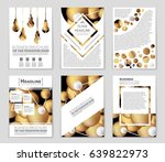 abstract vector layout... | Shutterstock .eps vector #639822973