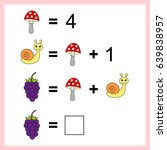 mathematics task.  learning... | Shutterstock .eps vector #639838957