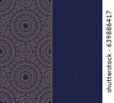 Abstract Oriental Pattern With...