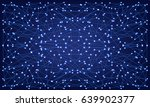 abstract polygonal space blue... | Shutterstock .eps vector #639902377