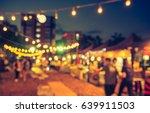 vintage tone blur image of... | Shutterstock . vector #639911503