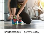 exercise   get healthy and hit... | Shutterstock . vector #639913357