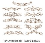 design elements.vector... | Shutterstock .eps vector #639915637