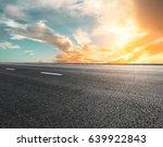new asphalt highway road at...   Shutterstock . vector #639922843
