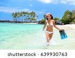 summer beach vacation fun... | Shutterstock . vector #639930763