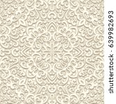 vintage beige background ... | Shutterstock .eps vector #639982693