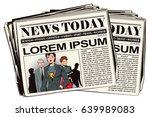 stock illustration. people in... | Shutterstock .eps vector #639989083
