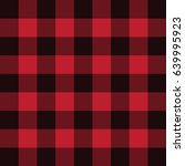 lumberjack plaid flannel... | Shutterstock .eps vector #639995923