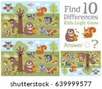 find differences educational... | Shutterstock .eps vector #639999577