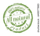 all natural product grunge... | Shutterstock .eps vector #640077883
