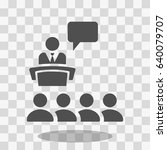 class group of individuals... | Shutterstock .eps vector #640079707