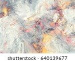 artistic splashes. abstract... | Shutterstock . vector #640139677