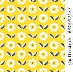 Seamless Retro Pattern With...