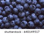 blueberries | Shutterstock . vector #640149517