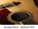 the guitar series | Shutterstock . vector #640161793