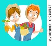 cartoon vector illustration of...   Shutterstock .eps vector #640165837