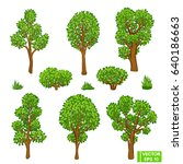Vector Image. Summer Forest. A...