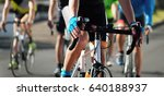 cycling competition race in the ... | Shutterstock . vector #640188937